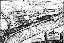 Village fortifié de Charlemont, sur les hauteurs de Givet